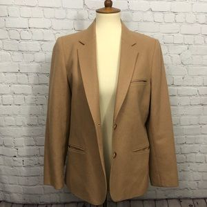 Vintage Camel colored wool blazer